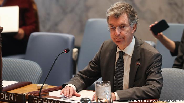 UN-Hauptquartier in New York | Christoph Heusgen, deutscher UN-Botschafter