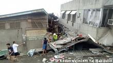 Philippinen Erdbeben | Schäden in Padada