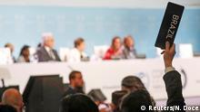 UN-Klimakonferenz 2019 | Cop25 in Madrid, Spanien | Brasilien, Stimme