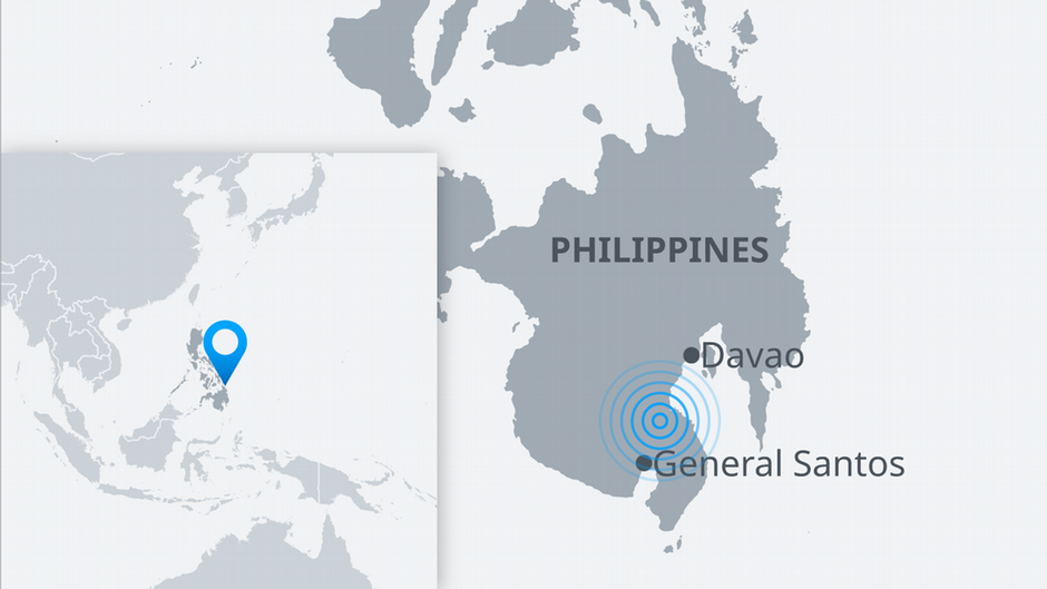 Death toll rises in southern Philippines earthquake | News | DW | 16.12.2019