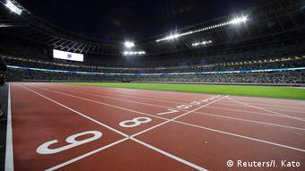 Tokyo's new national stadium was built for the Olympics