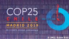 Spanien UN-Klimakonferenz Cop25 in Madrid