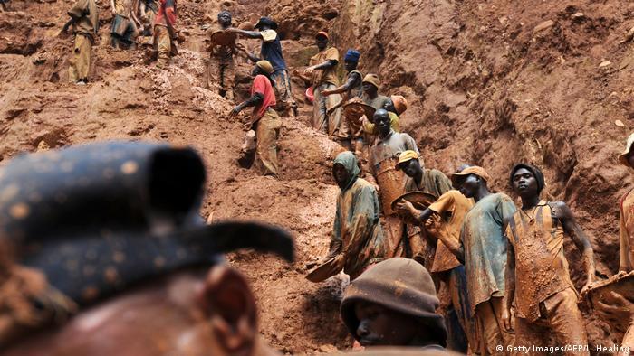 La lutte contre le trafic de diamants reste féroce en RDC