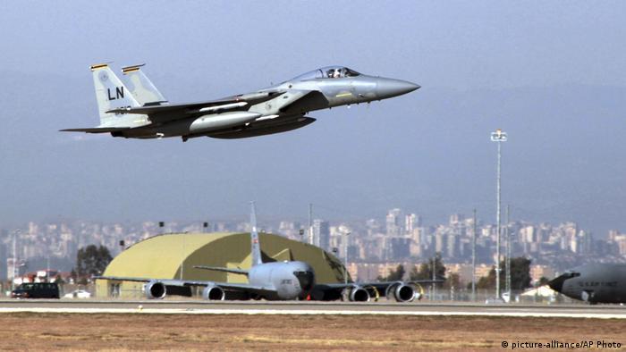Turkey's Erdogan threatens to close strategic bases to US military