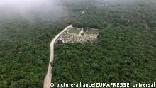 Mexiko Tren Maya in Campeche