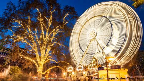 BdTD Österreich Riesenrad in Wien (Imago Images/Xinhua/Guo Chen)