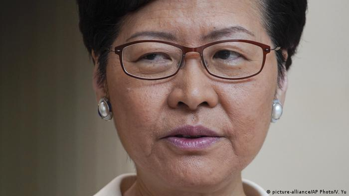 Carrie Lam (picture-alliance/AP Photo/V. Yu)