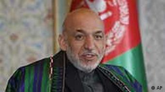 Afghanistans President Hamid Karzai (Foto: AP)