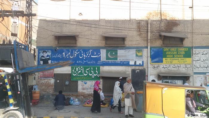 Pakistan Peschawar   5. Jahrestag Terroranschlag von Peschawar 2014   Girls Shaheer Shaheed School