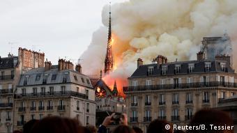 15 kwietnia 2019 symbol Paryża - katedrę Notre-Dame zaczął trawić pożar