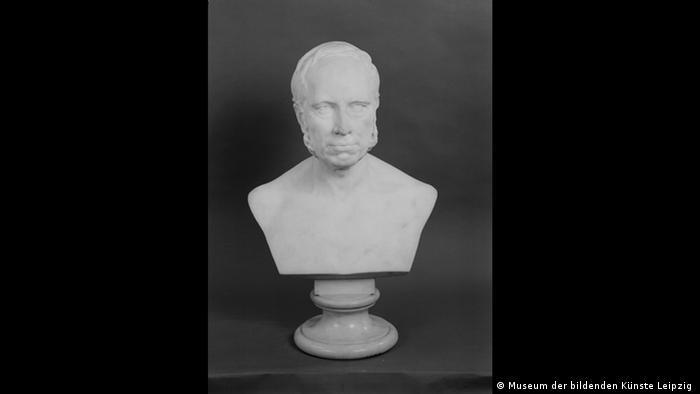 Adolf Lehnerts Büste von Gustav Harkort, 1887 (Museum der bildenden Künste Leipzig )