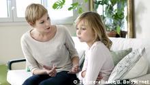 Symbolbild- Konflikt mit Kind