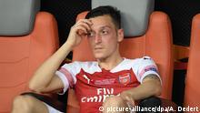 Baku: Fußball: Mesut Özil | Europa League Finale | FC Chelsea - FC Arsenal