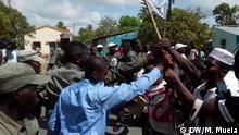 RENAMO-Unterstützer in Quelimane, in der Provinz Zambézia. 16.12.2019