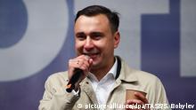 Russland | Oppositionspolitiker Ivan Zhdanov