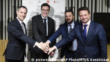 Ungarn Budapest Pakt der freien Städte