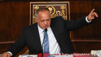 Venezuela Parlament Haushaltsdebatte Diosdado Cabello