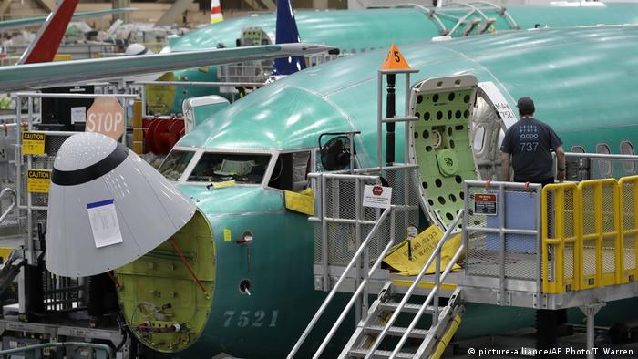 USA Boeing 737 MAX Produktionsstop (picture-alliance/AP Photo/T. Warren)