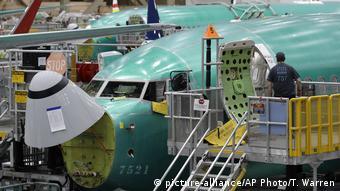 Производство Boeing 737 MAX в США
