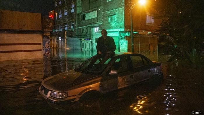 Iran Überschwemmung in Ahvaz