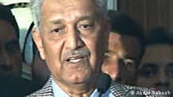 Abdul Qadir Khan, der 'Vater der islamischen Atombombe' (Foto:DW/Abdul Sabooh)