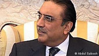 Pakistani President Asif Ali Zardari has been accused of not doing enough for the flood victims