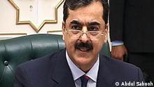 Pakistan Ministerpräsident Yousaf Raza Gilani