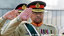Pakistan Ex-Präsident Pervez Musharraf