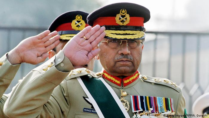 Pakistan Ex-Präsident Pervez Musharraf (Getty Images/AFP/A. Qureshi)