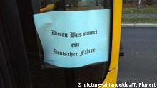 Politische Provokation: DVB schließen Busfahrer in Dresden aus