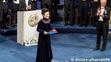 Olga Tokarczuk, Nobel Prize in Literature for 2018. Pictures from Nobel Prize Award at Stockholm Concert Hall. Pictures from the event and when the King handing out the awards. Stockholm, Sverige 2019-12-10 |