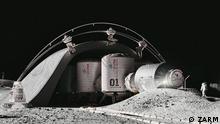 Das MaMBA Habitat soll die Raumfahrer, unter Anderem, vor der aggressiven, kosmischen Strahlung beschützen. Datum: 18.11.2019 Fotot: ZARM