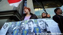 Weißrussland Protest verschwundene Oppositionelle