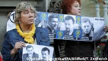 Weißrussland Protest verschwundene Oppositionelle Viktor Gonchar Anatoly Krasovsky
