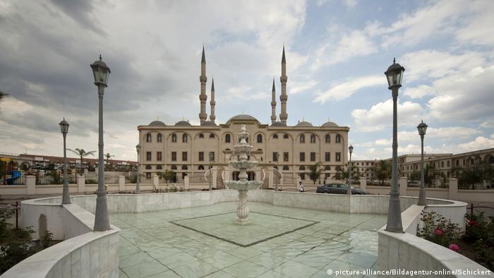 Südafrika Nizamiye Masjid Moschee in Johannesburg (picture-alliance/Bildagentur-online/Schickert)