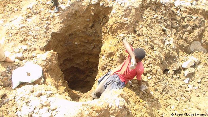 DR Kongo Kinderarbeit in Mine
