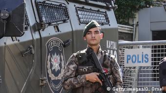 Symbolbild   Polizei in der Türkei