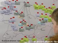 Γεωγραφικός χάρτης με τις πόρνες στα στρατόπεδα συγκέντρωσης