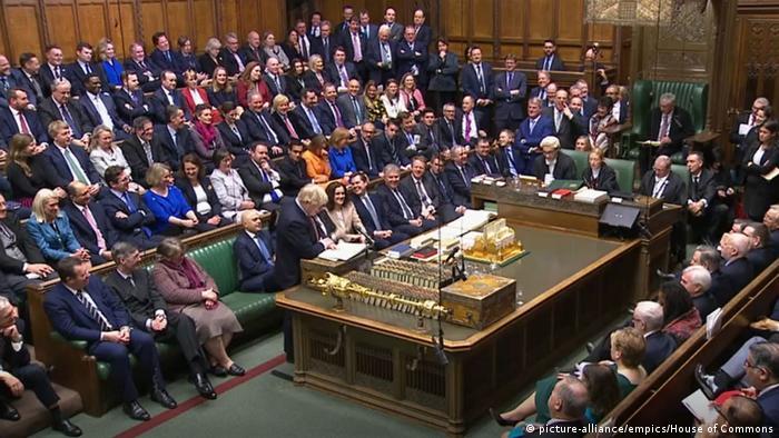 Großbritannien London | Erste Parlamentssitzung nach Unterhauswahl
