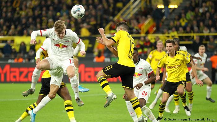 Bundesliga Borussia Dortmund Twice Throw Lead In Six Goal Thriller Against Rb Leipzig Sports German Football And Major International Sports News Dw 17 12 2019