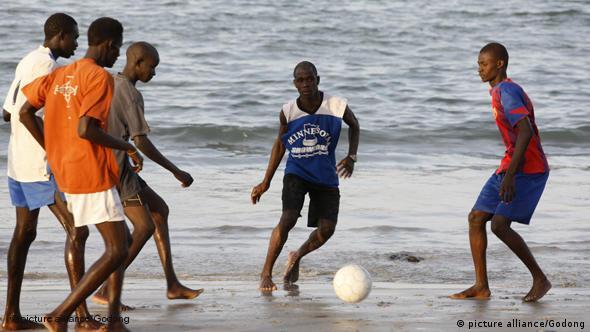 Senegal Dakar Meer Strand Fußball Flash-Galerie