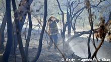 Australien Hitzewelle Feuerwehr