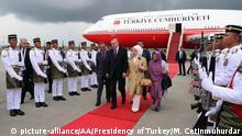 Malaysia Erdogan zu Besuch