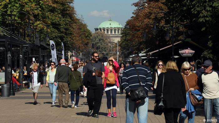 Bulgarien Alltag in Sofia (BGNES)
