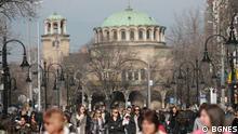 Alltag in Sofia. Foto: BGNES.