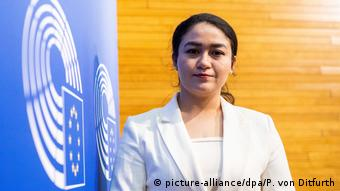 Plenarsitzung des Europäischen Parlaments, Ilham Tohti