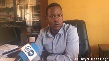 Äthiopien Assosa   Tarekegn Tesisa - Leiter des Krisenmanagement Benishangul Gumuz