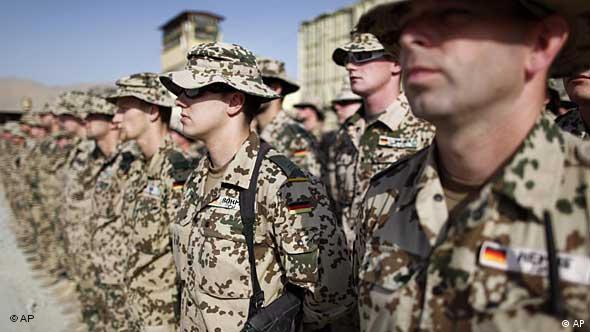 German ISAF forces in Afghanistan
