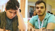 Iran Amin Tabatabaei & Parham Maghsadlo, Schach-Nationalspieler Quelle: Iran Emrooz