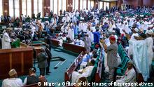 Section of the members of Nigerian National House Of Representatives in Abuja. 17.12.2019